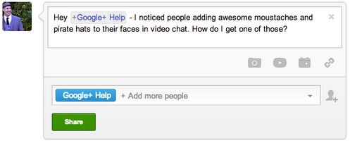 googleplushelp The new Google+ Help account wants to be of service