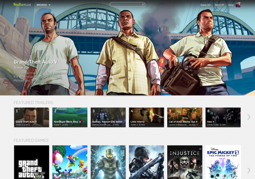 grand theft auto 520x365 Hulu launches a new online hub for video game trailers