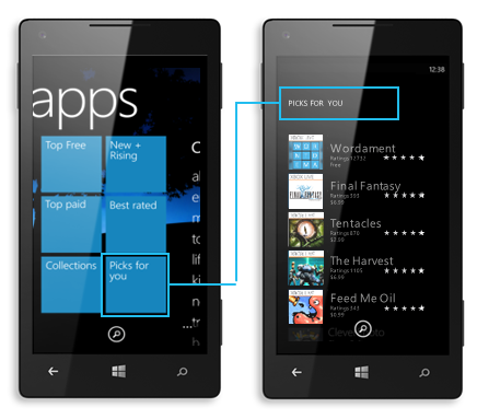 image 72D7AA22 Microsoft launches Collections for Windows Phone: Themed bundles of six apps or more