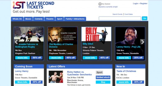 lst site 520x277 Unsold ticket marketplace Last Second Tickets raises $1.6m from Markco Media
