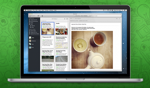 mac5 pre 520x306 Evernote 5 launches on the Mac with a refreshed look and over a hundred new features