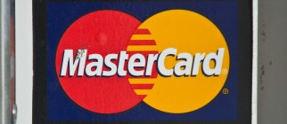 Visa and MasterCard credit card logos ar