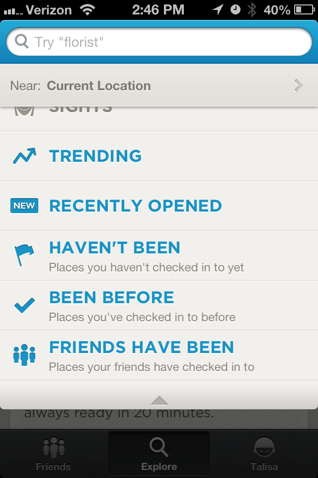 photo2 Foursquare adds Recently Opened section to Explore in iPhone app