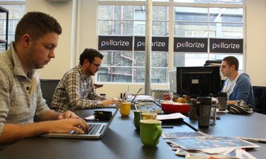 pollarize 520x312 Accelerated living: Catching up with startups at Londons Wayra Academy