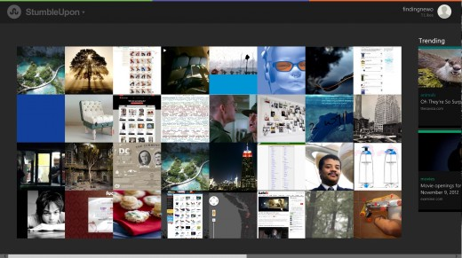 stumble 520x291 25 inspiring Windows 8 app designs