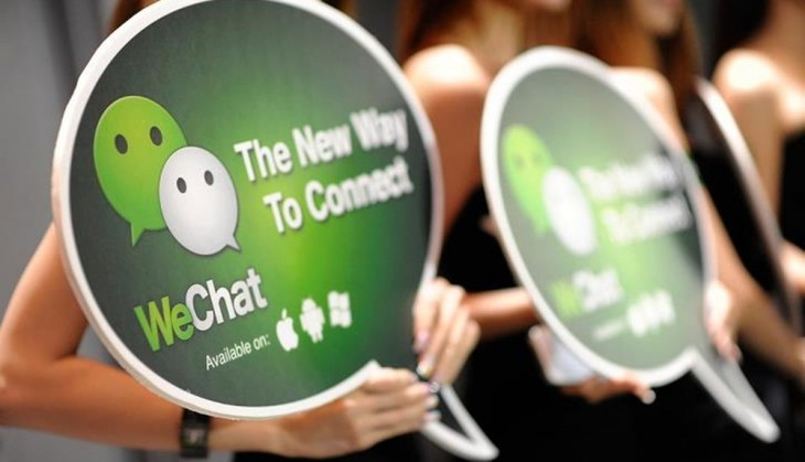 wechat 730x419 Messaging service WeChat passes 100 million downloads on Google Play internationally