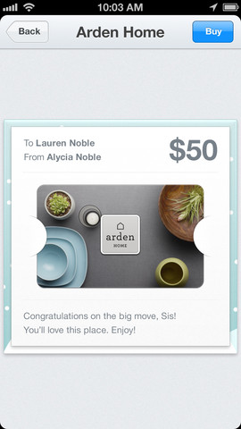 1 Square integrates Apples Passbook and introduces gift cards for iOS app users