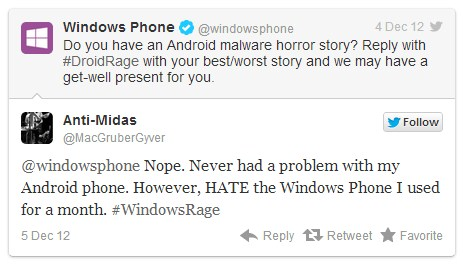 2012 12 05 11h02 10 Microsoft attempts Android backstab on Twitter, fails to do much but look foolish