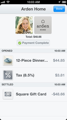 3 Square integrates Apples Passbook and introduces gift cards for iOS app users
