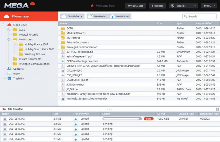 A9h4BgWCMAIpFzI 730x471 Kim Dotcom posts screenshots of upcoming Mega site: key generator, registration, and file manager