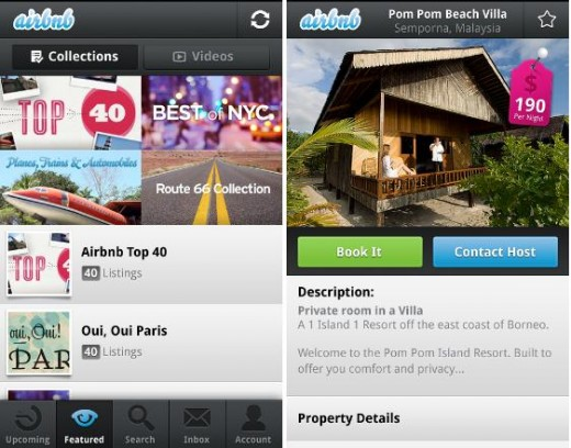 Airbnb 520x408 13 of the best travel apps of 2012