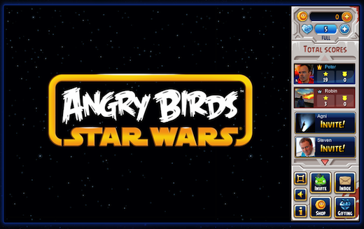 Angry Birds Star Wars on Facebook 100819 Rovio launches Angry Birds Star Wars beta on Facebook, hasnt yet told its 22.6 million fans