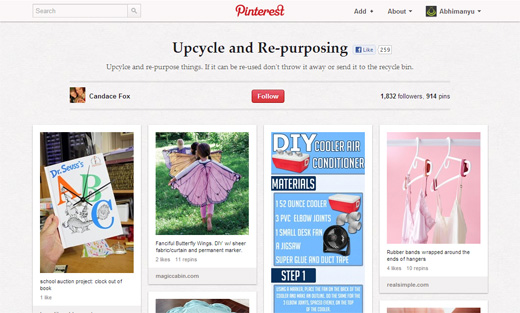 Candace Fox's upcycling projects board on Pinterest