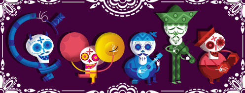 Day Of The Dead 12 hp Our favorite Google Doodles from 2012