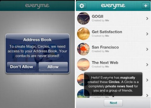 Everyme 520x373 15 of the best social apps of 2012