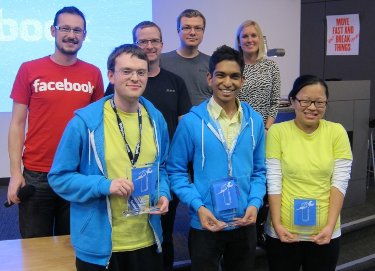 Facebook-University-Hackathon-Winners