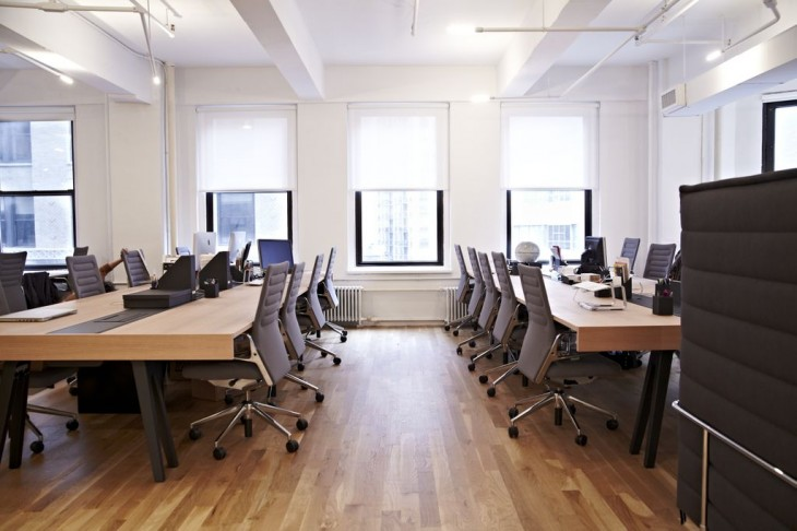 Awesome offices inside 15 fantastic startup workplaces in for Interior design office new york