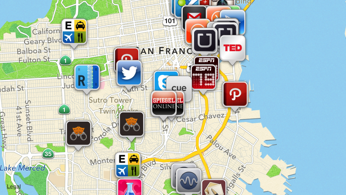 maps for apps