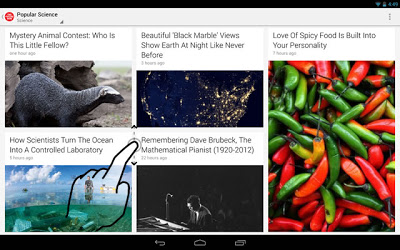 Google Currents for Android now lets you scan stories by category, publication and breaking news