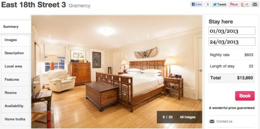 Screen Shot 2012 12 04 at 10.57.52 AM 520x259 The London based unhotel startup onefinestay opens the doors to 100+ homes in NYC