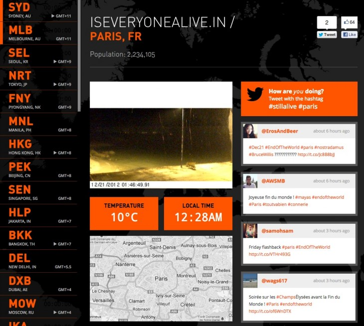 Screen Shot 2012 12 20 at 4.57.28 PM 730x654 Worried about the end of the world? TNW built an app to help you track the fall of humanity
