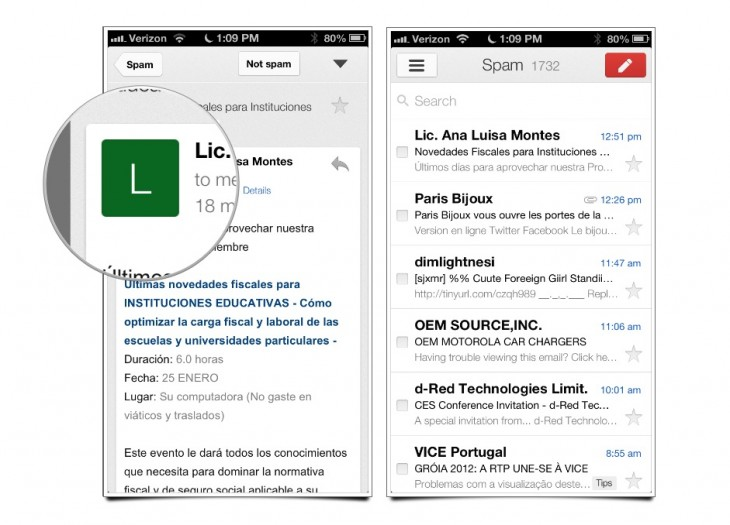 Screen Shot 2012 12 21 at 9.55.02 PM 730x525 Google finds its design voice on iOS