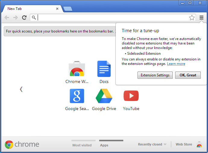 How to enable internet download manager on google chrome