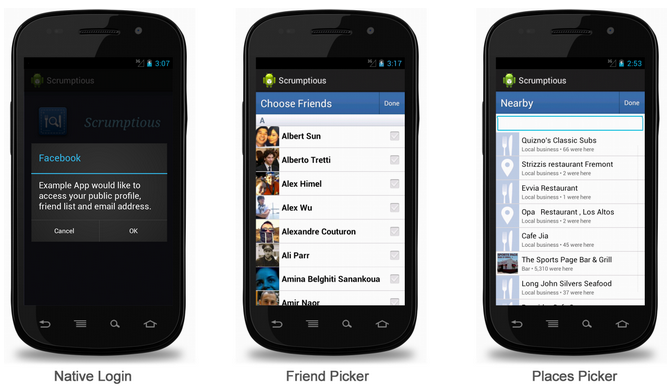 Snap 2012 12 13 at 15.27.53 After 80K beta downloads, Facebook launches Android SDK with native login, install metrics and more