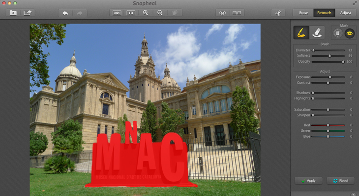 Snapheal3 Snapheal updates its affordable photo editing app with a new interface and enhanced tools