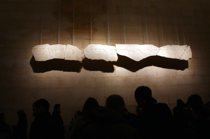Tate Britain dramatic backdrop 730x486 Etsy nails it with a night market event at Londons Tate Britain gallery