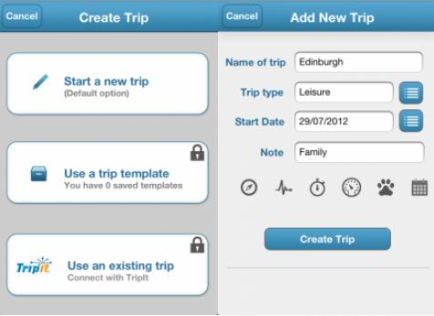TripList 13 of the best travel apps of 2012