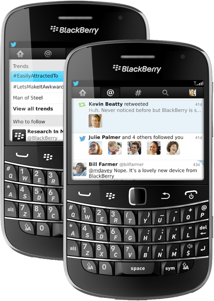 TwitterforBlackBerry4 730x1023 Twitter updates BlackBerry app with Connect tab and simpler navigation, but buries DMs