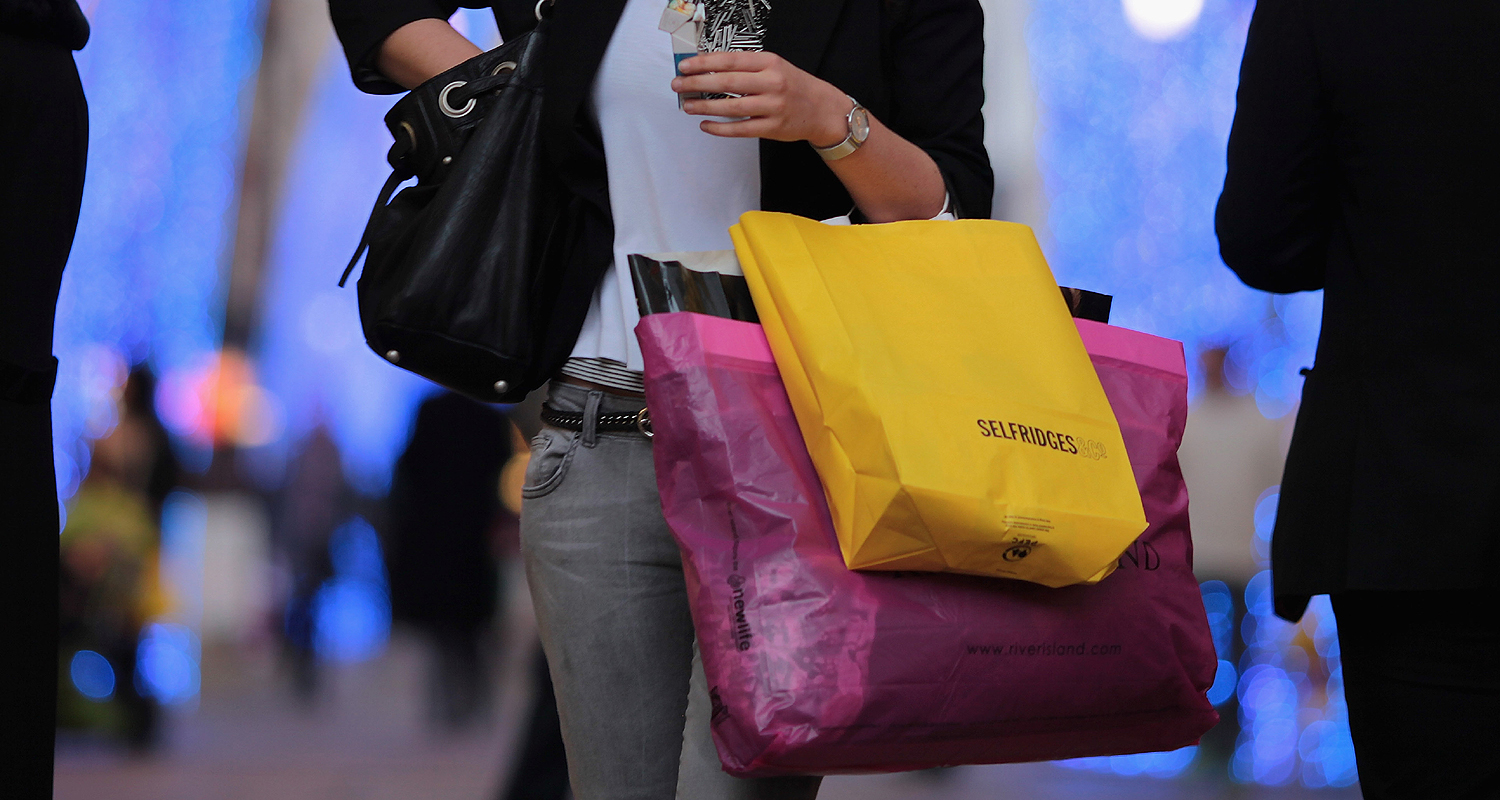 UK shopping Dan Kitwood Getty Images