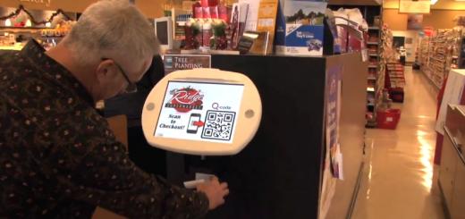 QThru checkout kiosk
