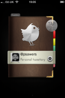 a1 220x330 TNW Pick of the Day: Tweetary isnt just an iOS Twitter client, its a diary for all your tweets
