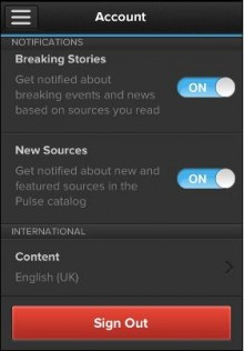 a5 220x316 Pulses news aggregation app now has a UK catalogue, reeling in The Guardian, NME and more