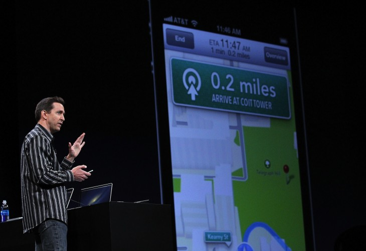 apple maps via getty images 730x502 2012s biggest tech news in pictures