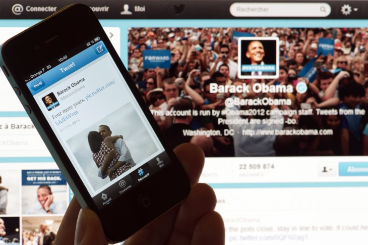 barack obama four more years via getty images 730x485 2012s biggest tech news in pictures