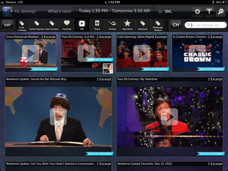 clips saturdaynightlive 730x547 NextGuide launches NextGuide Clips, bringing 18,000 TV clips from Hulu into the app