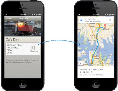 combined diagram 60 Google Maps for iOS finally arrives; includes voice, turn by turn, StreetView and developer SDK