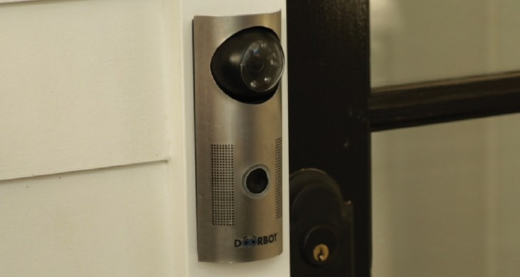 doorbot in situ 730x389 Hardware renaissance: A look at the Christie Street platform and Doorbot video streaming doorbell
