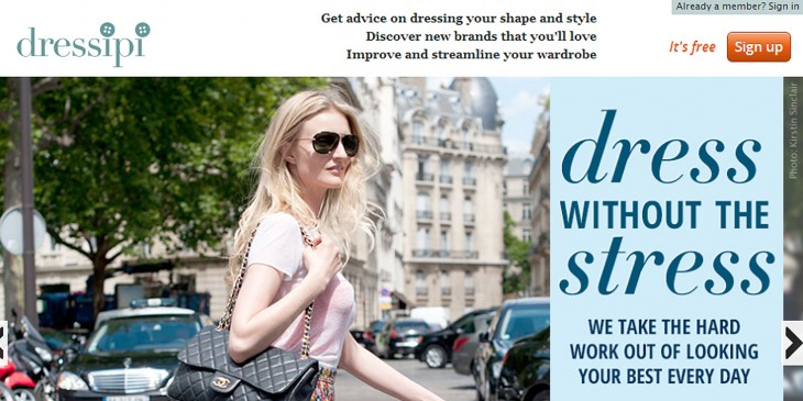 dressipi screen 730x365 Former Marks and Spencer chairman Sir Stuart Rose joins fashion recommendation site Dressipi in advisory role