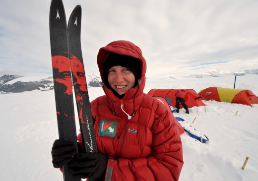 felicity aston antarctica 520x365 Issue v0.12 – Pole Party: Life and tech in Antarctica