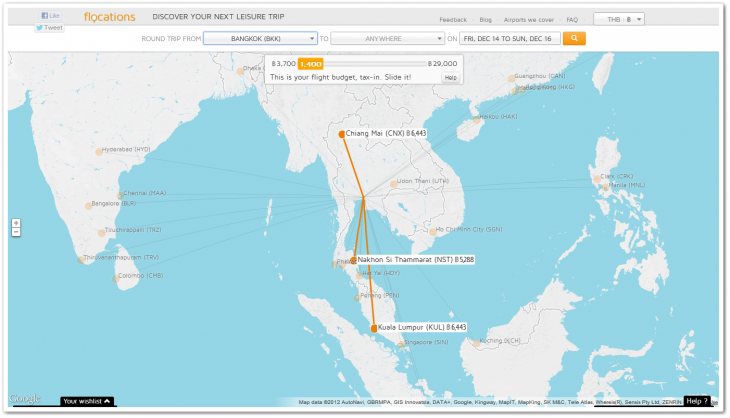 flocations 730x418 Flocations raises $570,000 to enhance its travel discovery service for Asia with new features