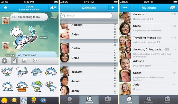 gm1 horz 730x427 Mobile games firm GREE test launches messaging app ahead of global rollout in 2013