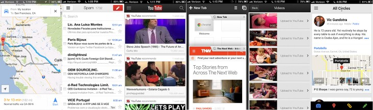 google apps mashup 730x216 Google in 2012: A year when mobile and social seeds began to shoot roots