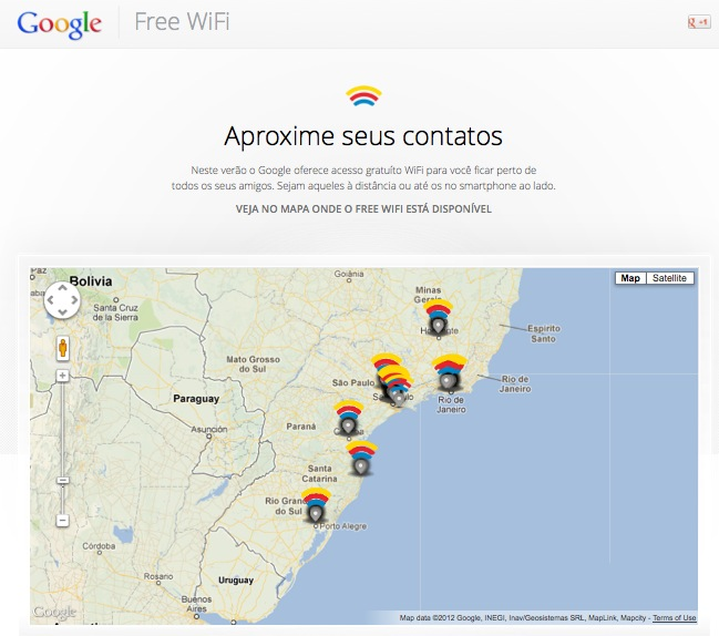 google free wi fi brazil Google offers free Wi Fi Internet connection in 150 Brazilian bars for 90 days