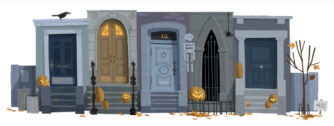 halloween Our favorite Google Doodles from 2012