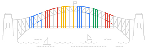 harbor bridge 2012 hp Our favorite Google Doodles from 2012