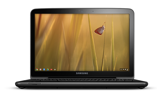hero single Google and DonorsChoose.org offer schools Samsung Series 5 Chromebooks for $99 each
